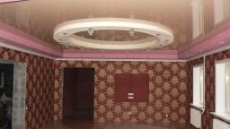 Французские натяжные потолки КАРЭ НУАР (Carre Noir)