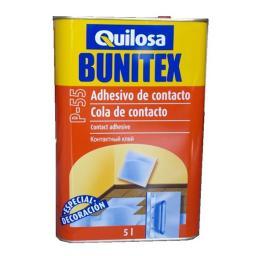 ВЫГОДНО! Расход на 15 м2. 5 литров Клей для пробки Quilosa BUNITEX P-55 Испания, расход на 15 м2