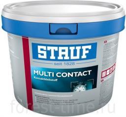 СКИДКА 15% 5 кг Воднодисперсионный без запаха Клей для пробки STAUF Multicontact, расход на 20 м2