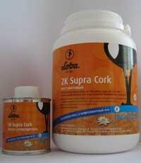 Паркетный лак LOBADUR WS 2K Supra Cork мат.1 л., расход на 10 м2