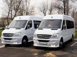 Аренда микроавтобуса Mercedes Sprinter VIP класса 12 мест