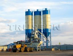 быстромонтируемый бетоносмесительный завод