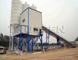 HZS60 модульные бетонные заводы truseen