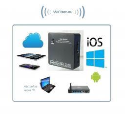 IP видеорегистратор на 4 канала с сервисом p2p Vstarcam