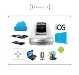 Видеоняня моторизированная Samsung SmartCam SNH, FullHD