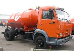 Поливомоечное оборудование на шасси автомобиля (шасси 4 м) V-9м3