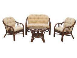 Комплект для отдыха (диван + столик + 2 кресла)