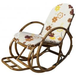 Кресло-качалка с подушкой ЭКО