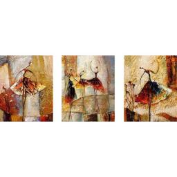 Раскраска Грация, Елена Карпинская, Триптих 50x120