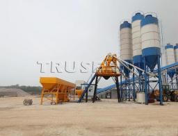 быстромонтируемая бетоносмесительная установка