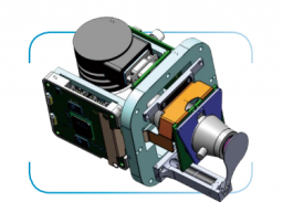 LWIR Охлаждаемый тепловизионный модуль EV LW384