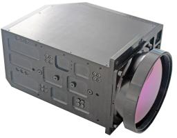 MWIR охлаждаемая инфракрасная камера zoom AOI 640-02