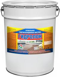 Гидролон — двухкомпонентная гидроизоляционная полиуретановая мастика (наливная кровля), 20кг