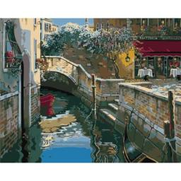 Раскраска Канал Венеции Роберта Пежмана, 40x50
