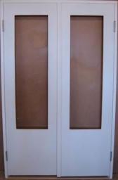 Дверь щитовая ДВП ДО 24-13 окрашенная