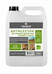 Антисептик для бани и сауны Medera 70 защита до 12 лет (1 л) концентрат 1:30