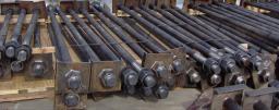 Болт фундаментный ГОСТ 24379.1-80 сталь 09Г2С хладостойкая