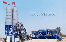 HZS25-180 стационарные бетонные заводы отличаются более высокой производительностью.