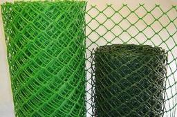 Сетка заборная (для ограждения) пластиковая