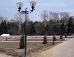 Декоративные опоры для освещения парков, скверов, пешеходных зон и коттеджных поселков.