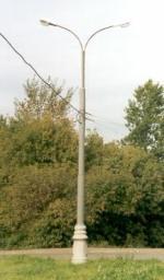 Опора металлическая круглая ОКС 2ф-9 фланцевая