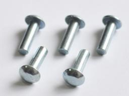 Заклепка ГОСТ 10303-80 стальная, алюминиевая, медная, латунная