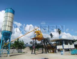 цементная бетоносмесительная установка