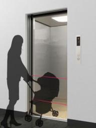 Оптический датчик безопасности HTP-21C для лифтов, автоматических дверей