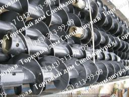 Шнек буровой для бурильных машин БМ-811, БМ-811М, БМ-831, БМ-833