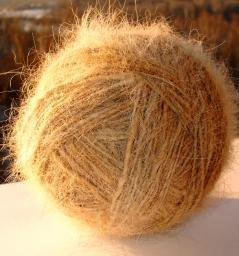 Пряжа «Леонбергер Элит» 290м100грамм одинарная нитка из собачьей шерсти