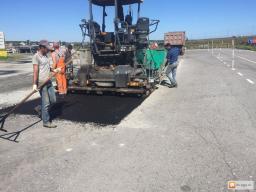 Работы по реконструкции автомобильных дорог