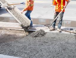 Бетонные работы/бетонирование дорожек