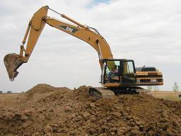 Разработка грунта механизмами без вывоза грунта