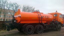 Оборудование автогудронатора на шасси КамАЗ-65115
