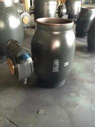 кран шаровой приварной ручной PN16 DN300