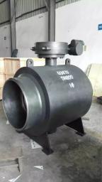 кран шаровой цельносварной под приварку с редуктором PN16 DN800
