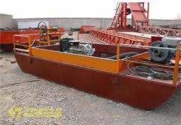 Эжекторный мини-земснаряд для разработки песчаного грунта 400м3/ч