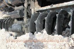 Многочерпаковый земснаряд для разработки песчаных грунтов