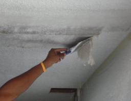 Демонтаж потолка