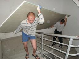 Подъем на этаж стройматериалов, грузчики