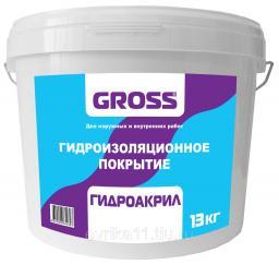 Гидроизоляционное покрытие ГИДРОАКРИЛ, 13кг