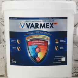 Теплоизоляция жидкая краска VARMEX Защита фасада морозостойкая
