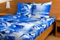 Комплект постельного белья Дельфины