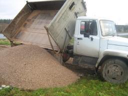 Зил самосвал 5 тонн, вывоз мусора