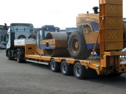 Первозка негабаритных грузов