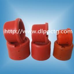 Красный пластмассовый пвх внутренняя внешняя резьба трубы заглушка