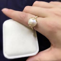 жемчужные кольцо