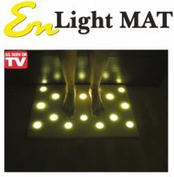 Коврик с подсветкой для пола с 16 светодиодными светильниками EN Light Mat (Эн Лайт Мат)