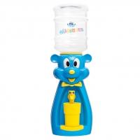 Детский кулер для воды Мышка голубая с желтым — АкваНяня