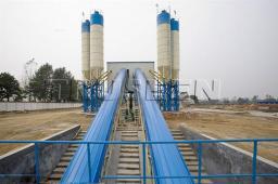 25-180 стационарный бетоносмесительный завод